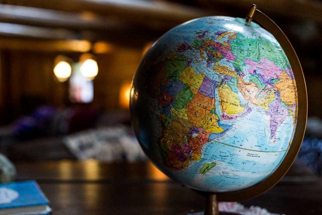 Global Company Africa Trade Globe