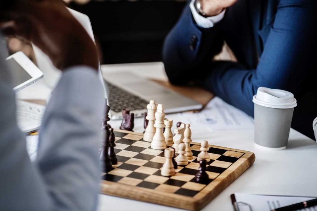 Chess and strategy in Africa continent