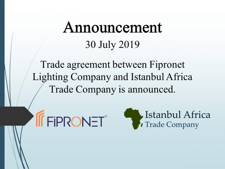 Trade Cooperation Agreement with Fipronet