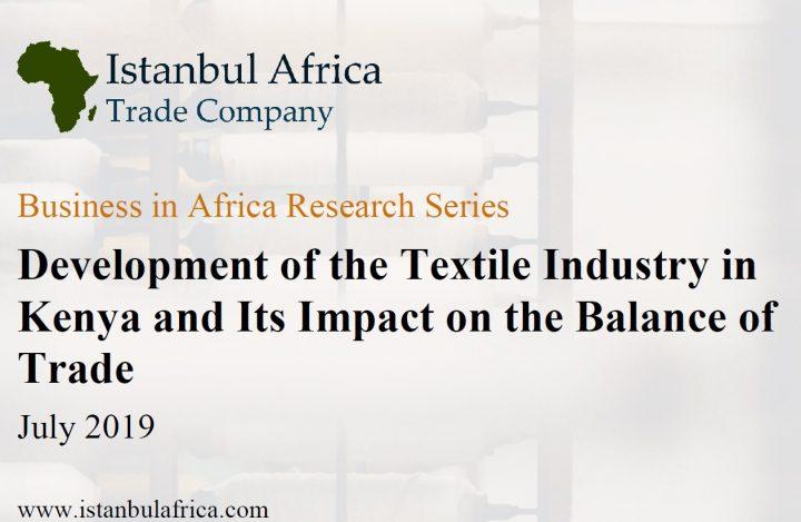 Rapport de Gestion: Développement de L'Industrie Textile au Kenya