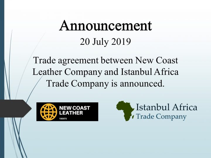 Trade Cooperation Agreement with New Coast Leather