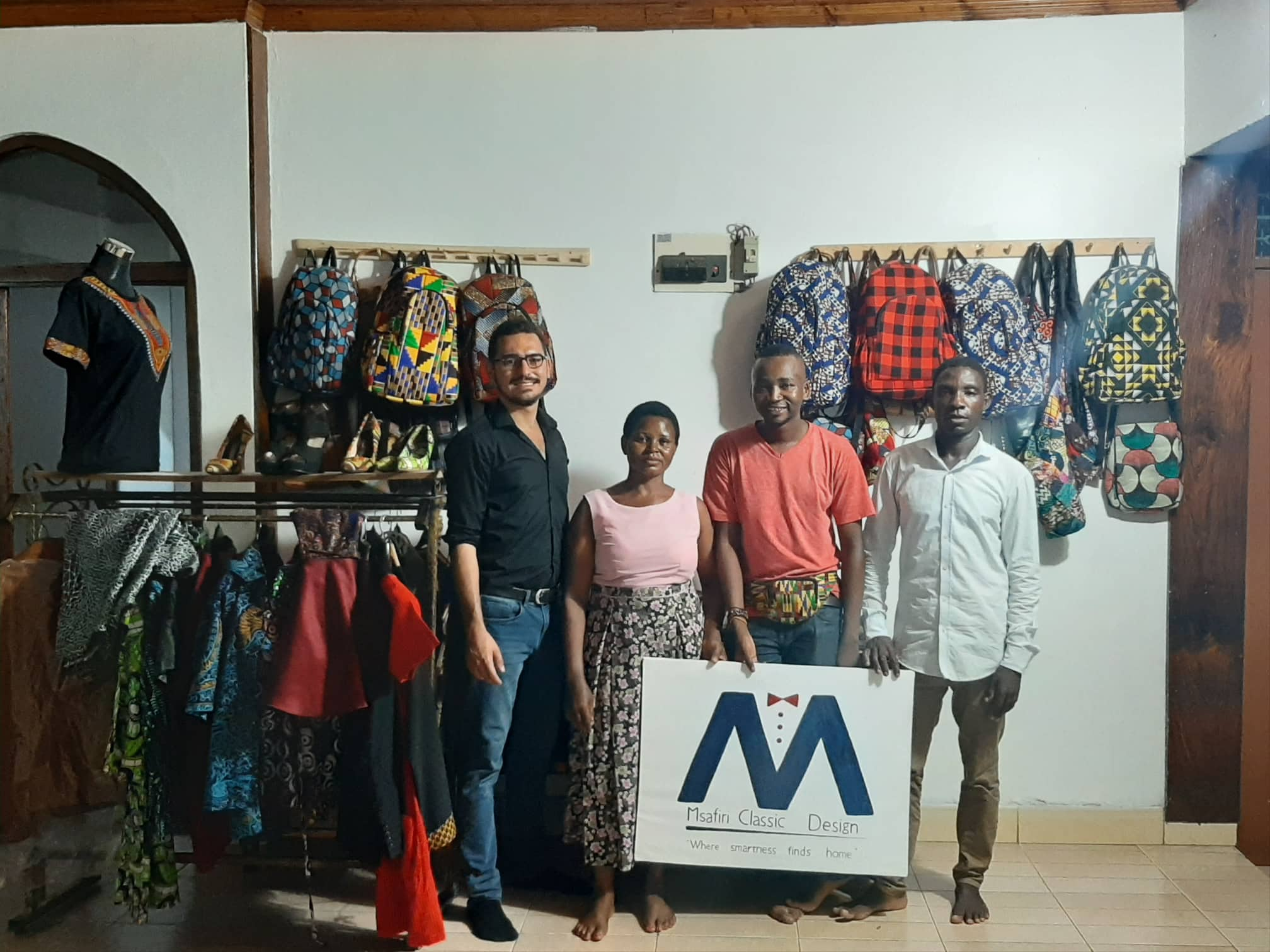 Tanzania Textile Case Study Africa Kitenge Fabric And Clothing Export