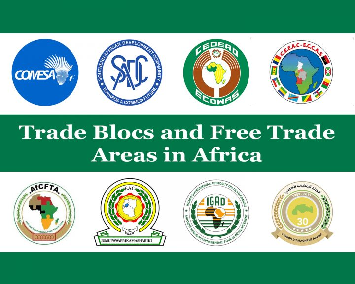 Trade Blocs and Free Trade Areas in Africa