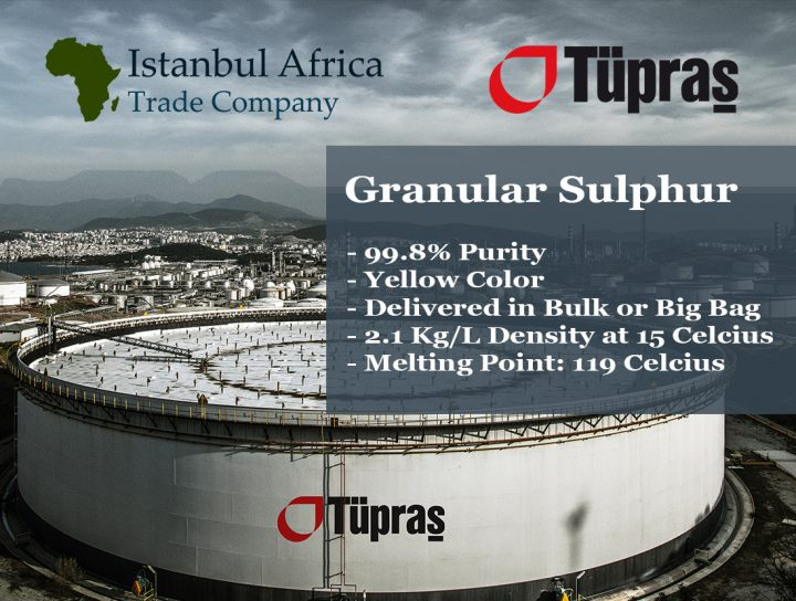 Supply of Granular Sulphur