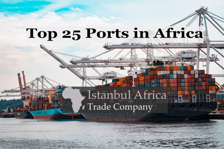 Top 25 Largest Ports in Africa
