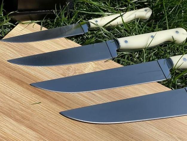 Turkish Custom Kitchen Knives