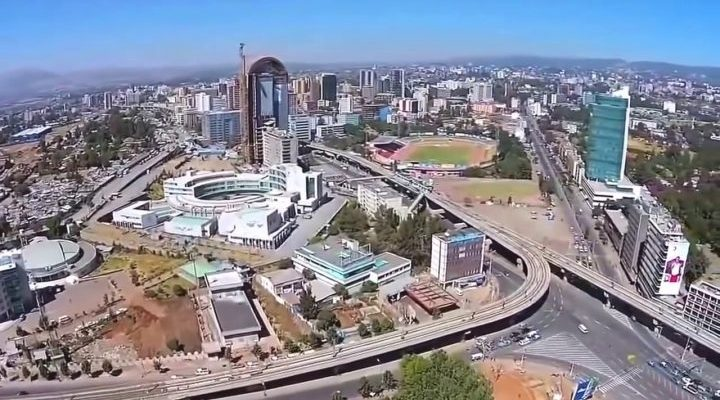 Addis Ababa, Ethiopia - Africa City View