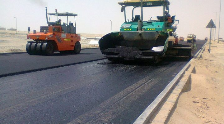 Asphalt Road Paving Contractor in Africa