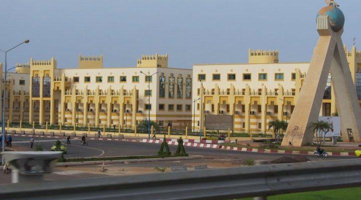 Bamako, Mali - Africa City View