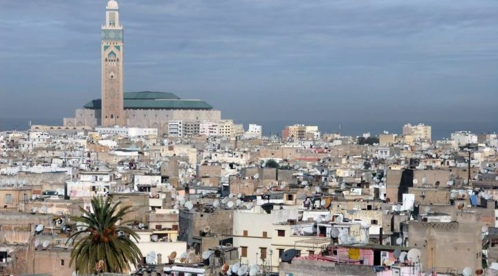 Casablanca, Morocco - Africa City View