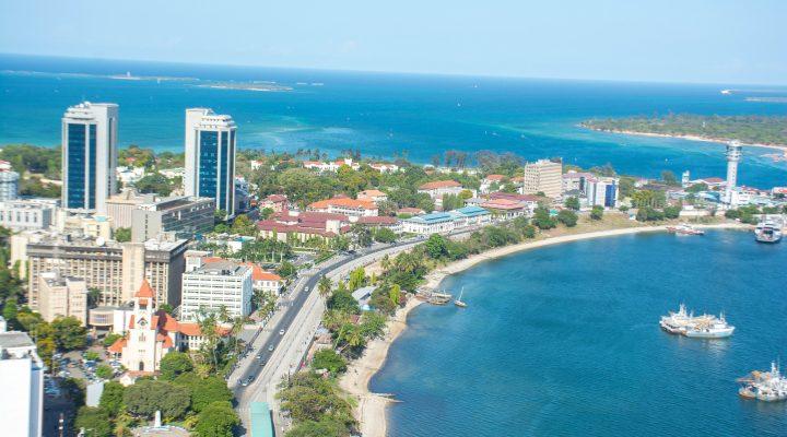 Dar es Salaam, Tanzania - Africa City View