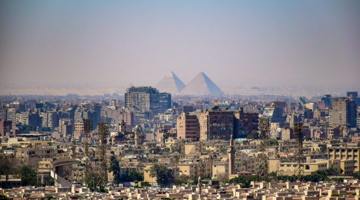 Giza, Egypt - Africa City View