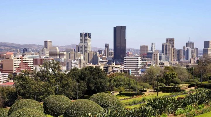 Johannesburg, South Africa - Africa City View