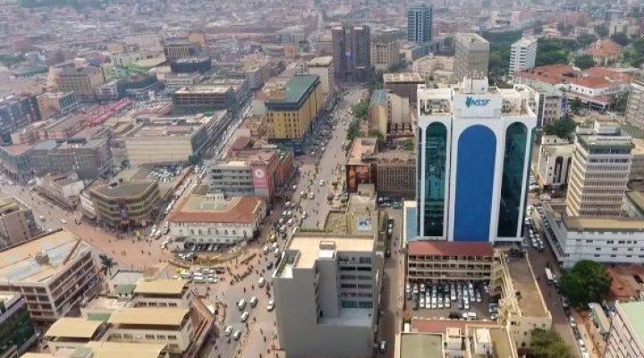 Kampala, Uganda - Africa City View