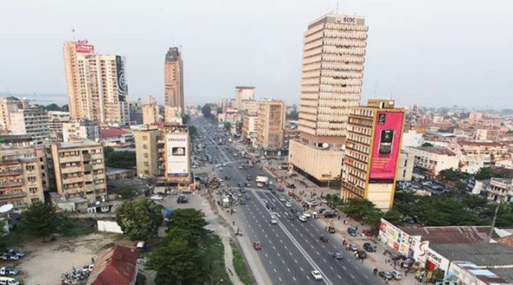 Kinshasa, DR Congo - Africa City View