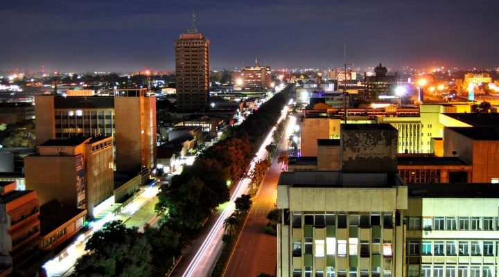 Lusaka, Zambia - Africa City View