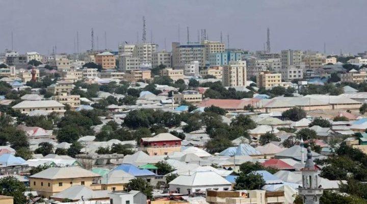 Mogadishu, Somalia - Africa City View