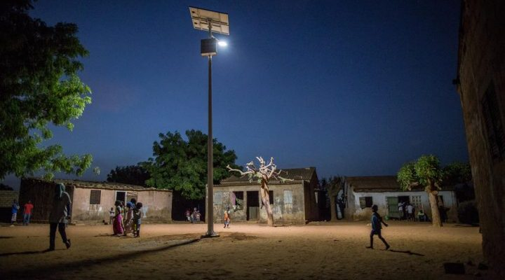 Solar Led Street Lights Africa