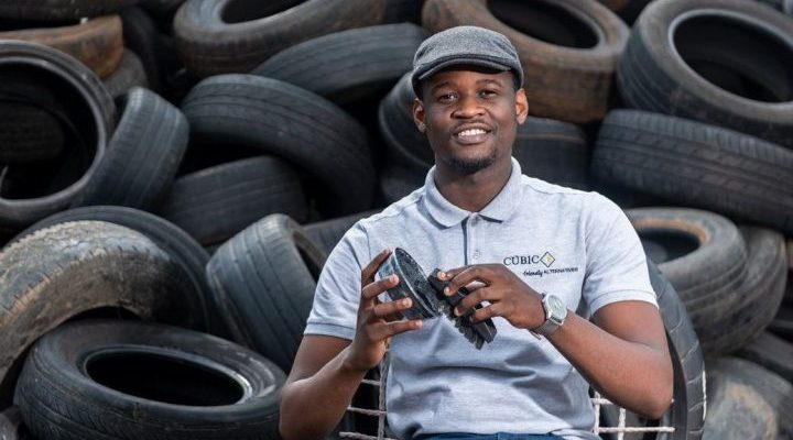 Tyre Recycling Plant in Africa